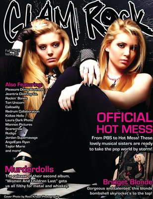Fall 2010 - Issue 6 featuring Official Hot Mess & Murderdolls