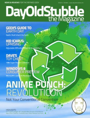 Issue 5: April 2012 | Geeks Go Green