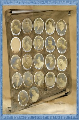 1918 Senior Class of Mayfield, High School, Graves County, Kentucky
