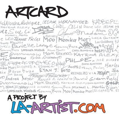 ArtCard: A Project by LA-Artist.com
