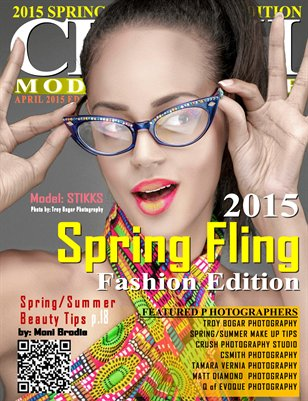 CRUSH Model Magazine 2015 Spring Fling Fashion Edition