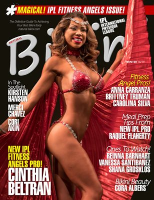Natural Bikini Magazine Issue #32 - Winter 18/19 - Cover: Cinthia Beltran!