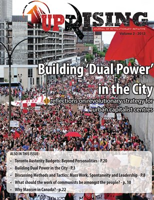 UpRIsing, Vol. 2: Dual Power and the City