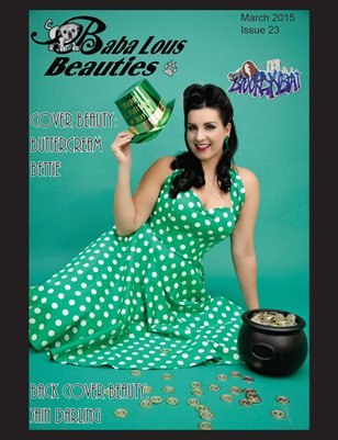 Baba Lous Beauties- Anything Pin Up Issue 23: March 2015