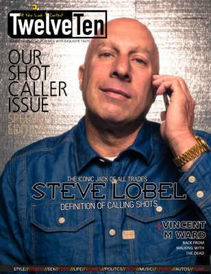 TwelveTen Magazine March/April 2016 Vol.1#2 (Steve Lobel)