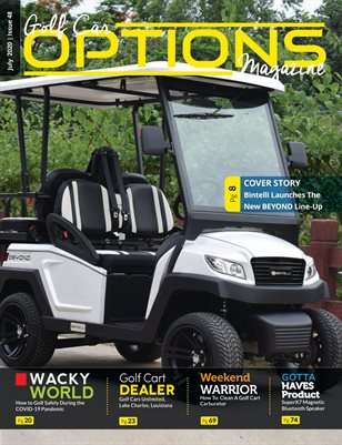 Golf Car Options Magazine - July 2020