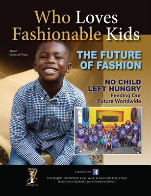 Who Loves Fashionable Kids Fall Issue