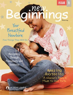 Your Breastfed Newborn: Five Things They Will Do