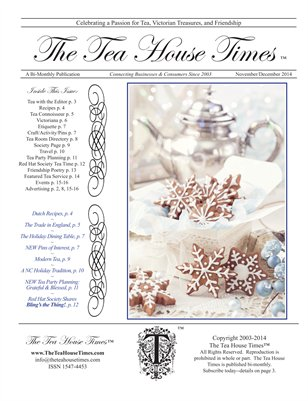 The Tea House Times Nov/Dec 2014 Issue