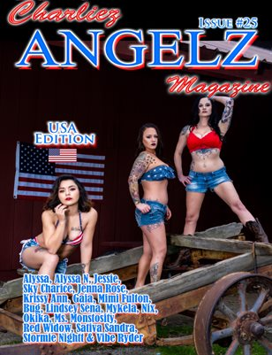 Charliez Angelz Issue #25 - USA