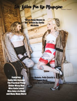 Sex Kitten Pin Up Magazine Summer Issue 2018 Cover3