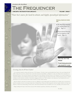 The Frequencer, issue 1