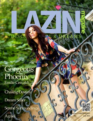 Lazin Magazine - Gorgeous Phoenix - July 2021
