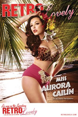 Retro Lovely No.172 – Miss Aurora Cailín Cover Poster