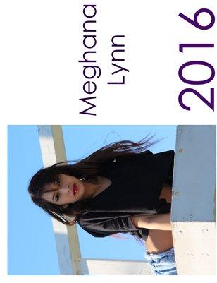 Meghana Lynn 2016 Calendar