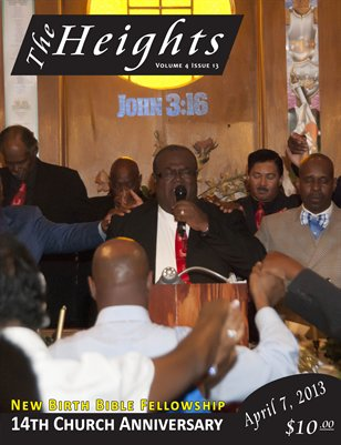 Volume 4 Issue 13 - New Birth Bible Fellowship 14th Church Anniversary