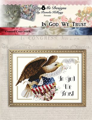 In God We Trust Cross Stitch Pattern