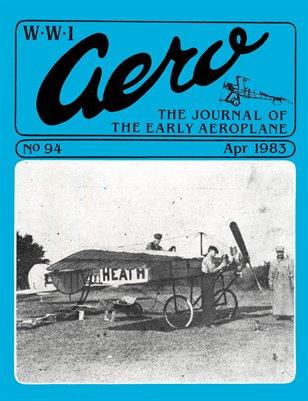 WW1 Aero #94 - April 1983