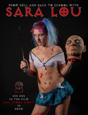 Sara Lou - Psycho Schoolgirl | Bad Girls Club