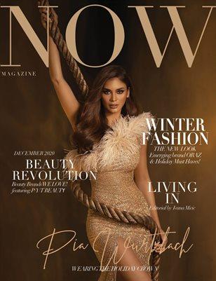 NOW Magazine December Pia Wurtzbach