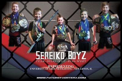 Sereiko BoyZ Cage Poster
