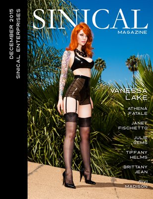 Sinical Magazine December 2015 - Vanessa Lake