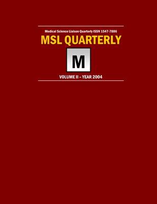 MSLQ Volume 2 Year 2004