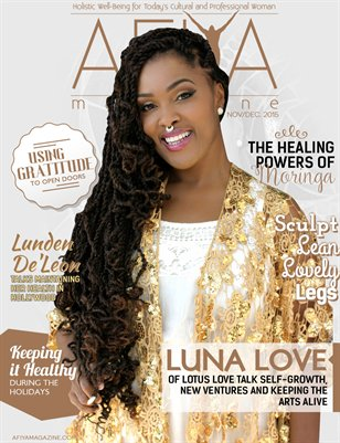 Nov/Dec AFIYA Magazine