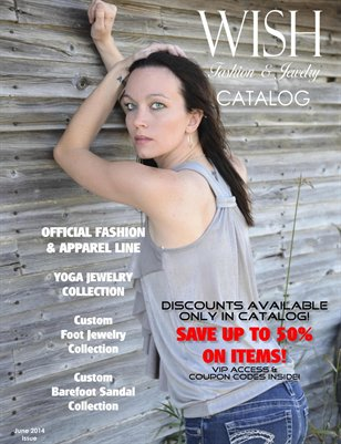 WISH Fashion and Jewelry Catalog - June Issue