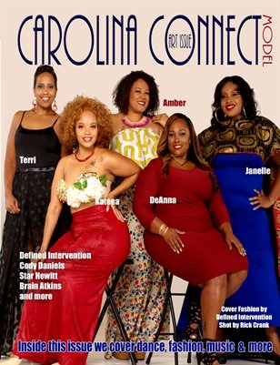 Carolina Connect Art Issue Model Cover
