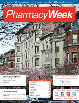 Pharmacy Week, Volume XXIV - Issue 38 & 39 - October 25 - November 7, 2015