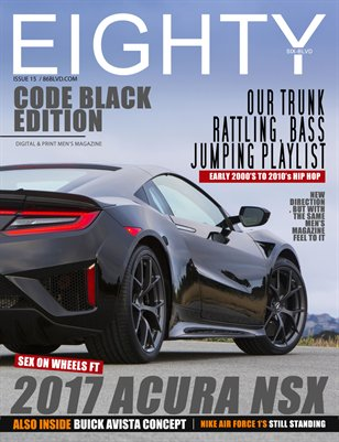 eighty6 blvd magazine- issue 15(Code black edition)