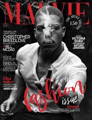 MALVIE Magazine The Artist Edition Vol 150 February 2021