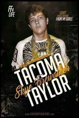 Tacoma Taylor Free Birthday Poster