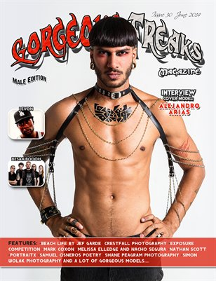 Issue 30 Male Edition Cover Model: Alejandro Arias