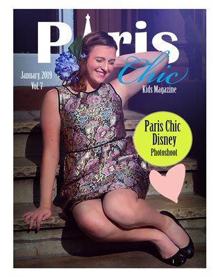 Paris Chic kids Magqzine January 6