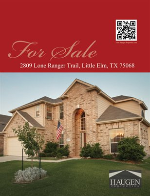Haugen Properties -  2809 Lone Ranger Trail, Little Elm, TX 75068