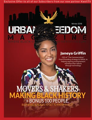 """Black History in the Making"" Vol 2: Janeya Griffin Cover"