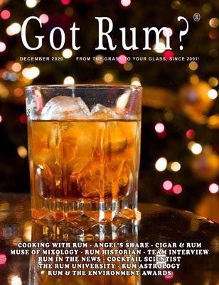 """""""Got Rum?"""" December 2020"""