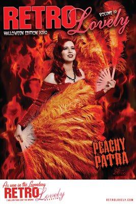 Peachy Patra Halloween Cover Poster