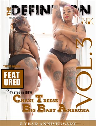 TDM:Ink 5yr Anniversary Vol. 3  Cover  3- Tattooed BBW
