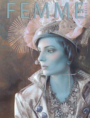 Femme Rebelle Magazine JULY 2018 - BOOK 1 Nina Pak Cover