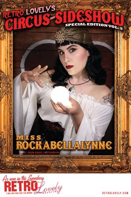 Circus & Sideshow 2021 Vol.5 – Miss Rockabellalynne Cover Poster