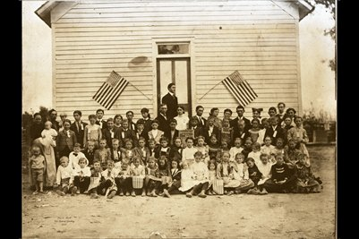 Fall Term 1903, Enterprise School. Marshall County, Kentucky