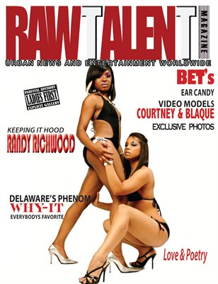 Raw Talent Magazine Issue #2