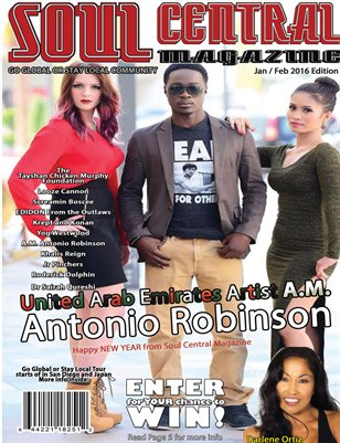 Soul Central Magazine January Edition 2016