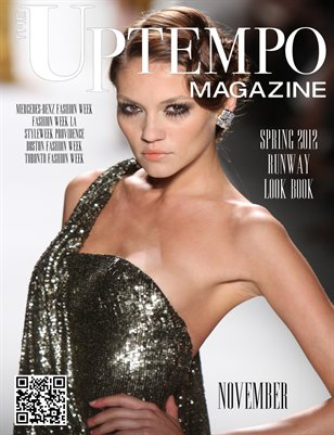 Uptempo Magazine: November 2011 - Spring 2012 Runway Look Book