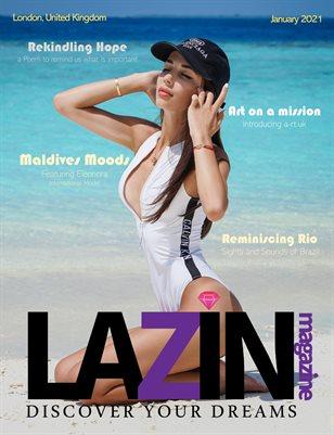 LAZIN Magazine Rekindling Hope Jan 2021