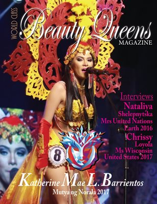 World Class Beauty Queens Magazine with Katherine Mae L Barrientos