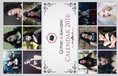 Gothic & Amazing 2016 Calendar